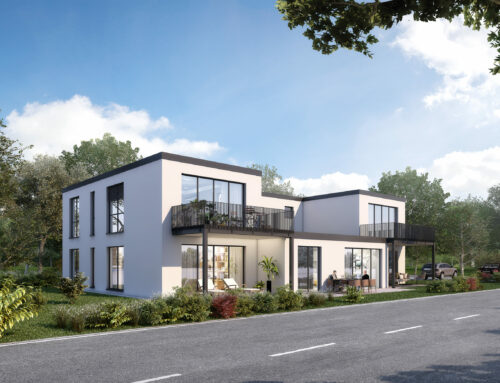 Neubau-Erstbezug exklusive 2-Zimmerwohnung mit Terrasse im KfW 55 Haus